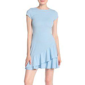 Love...Ady Asymmetric Hem Ruffle Dress